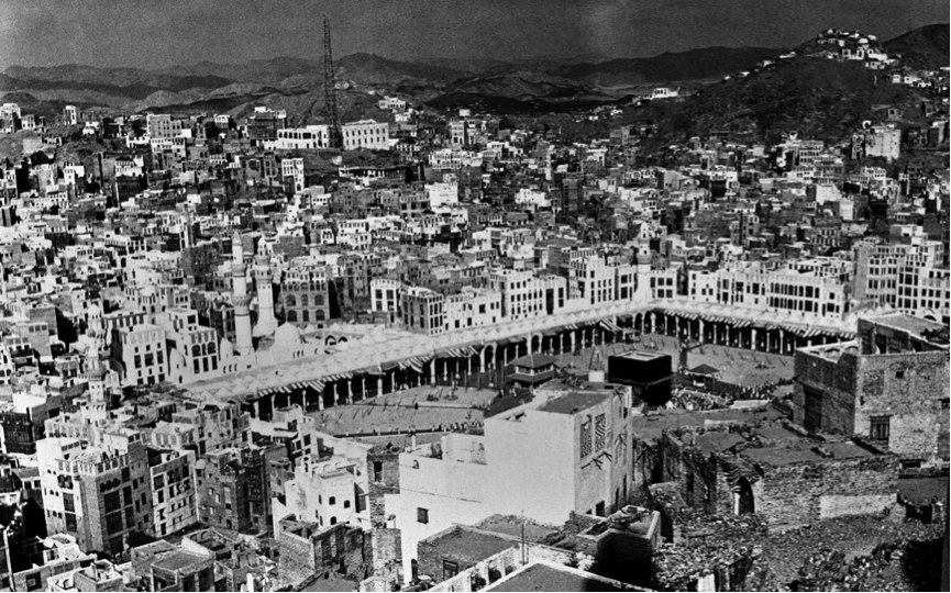 Mecca in 1951, a key place of pilgrimage for the Muslim communtiy