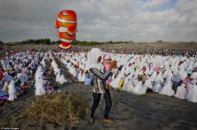Colourful Eid Celebrations in a Torn World