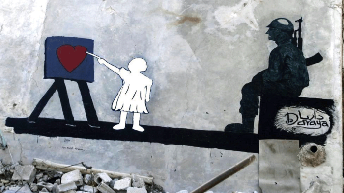 The Syrian Banksy: Turning Rubble into Art