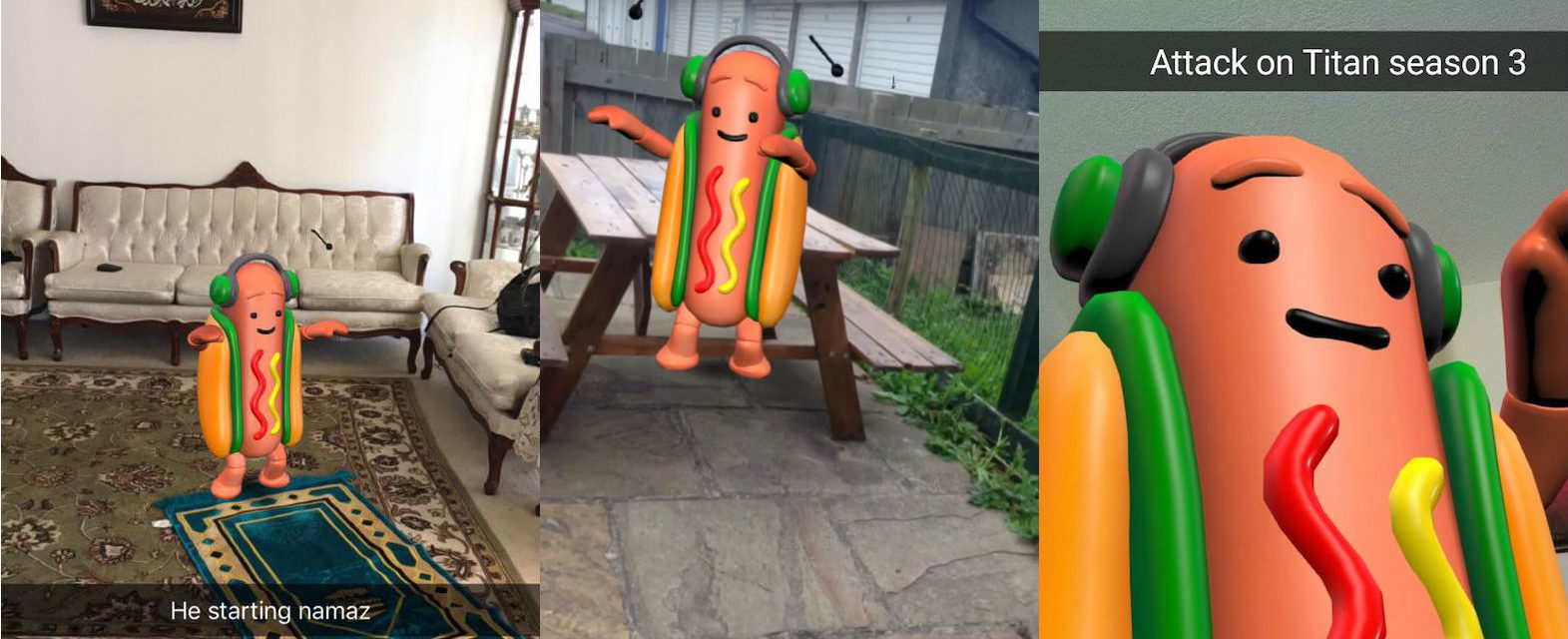 In Praise of the Snapchat Hot Dog: The Hero We All Need (and Deserve)