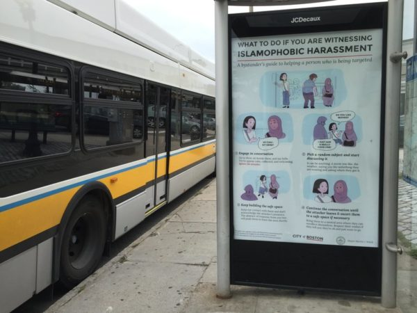 New Campaign Encourages Boston Residents to Intervene When They see Islamophobia