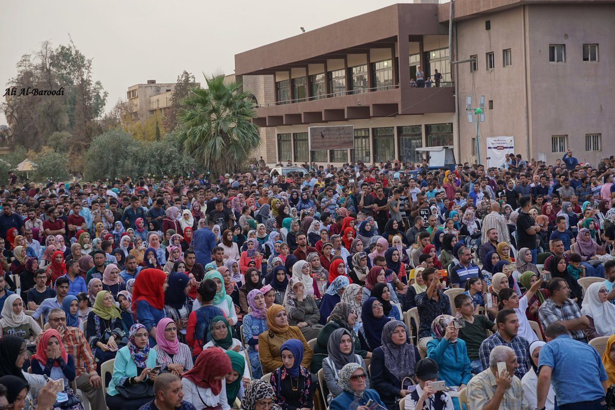 Thousands Attend Book Festival at Mosul Library That was Destroyed by ISIS