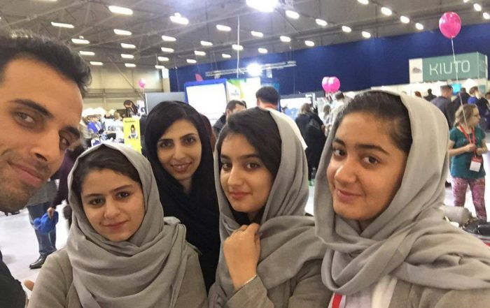 An All-Girl Afghan Robotics Team Win at Biggest Robotics Festival in Europe