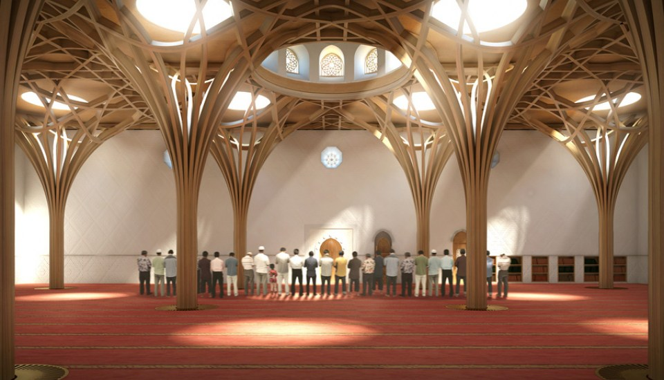 The First Eco-Mosque in Europe is Under Construction in Cambridge, and it Looks Incredible
