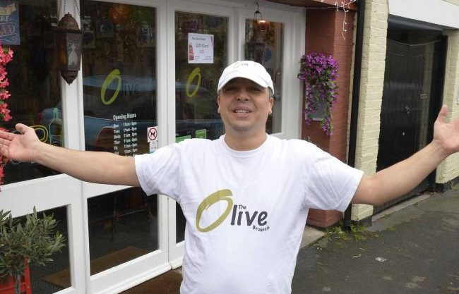 The Olive Branch: Syrian Café That Employs Refugees Celebrates Successful First Year in Essex