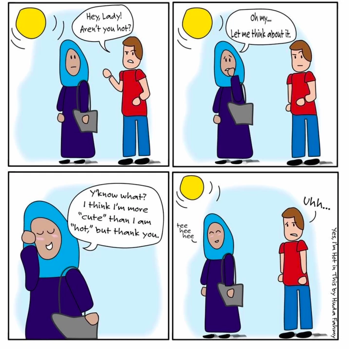 Everyone Can Relate to These Comics About Wearing a Hijab in America