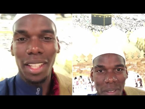 Pogba Loves Documenting His Pilgrimages to Mecca
