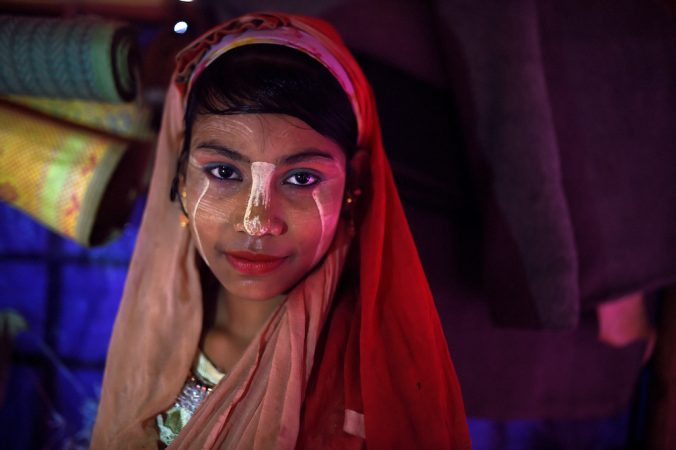 Celebrating the Unique Makeup of These Muslim Refugees in Bangladesh