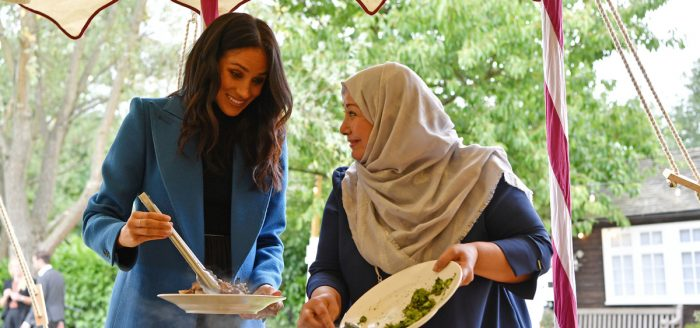 Meghan Markle Backs Recipe Book Created By Women From The Grenfell Community