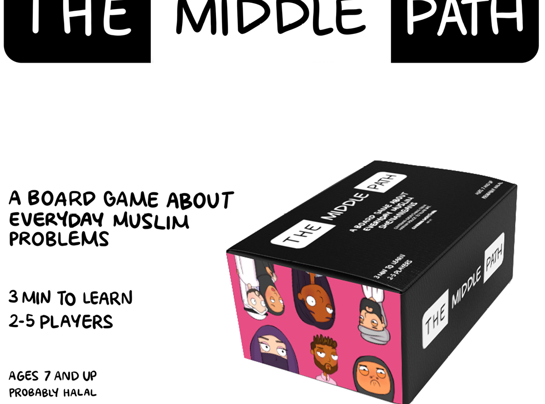 The Middle Path: The Board Game About Everyday Muslim Problems