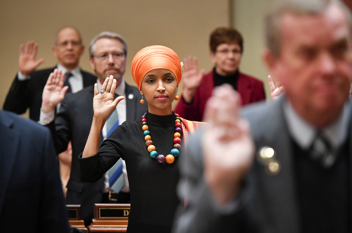 Ilhan Omar's First Task: Fighting The Ban On Head Coverings In Congress